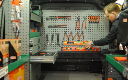 Van-Shelving-Fit-Out
